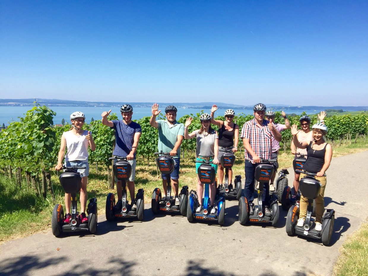 sightSee Segway PT Tour Bodensee